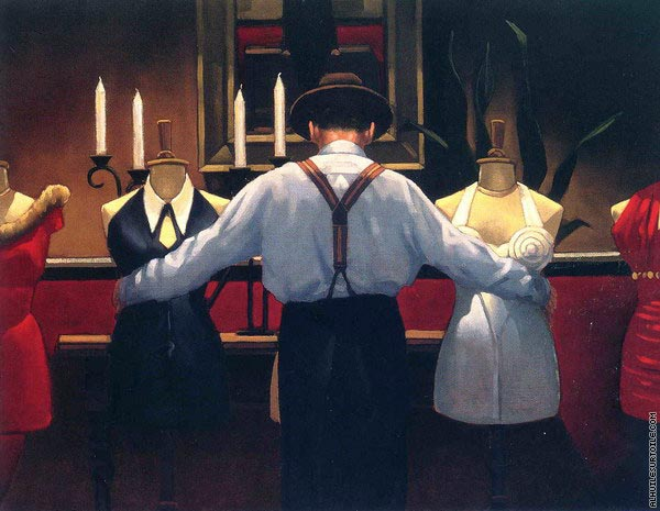 A kind of loving (Vettriano)
