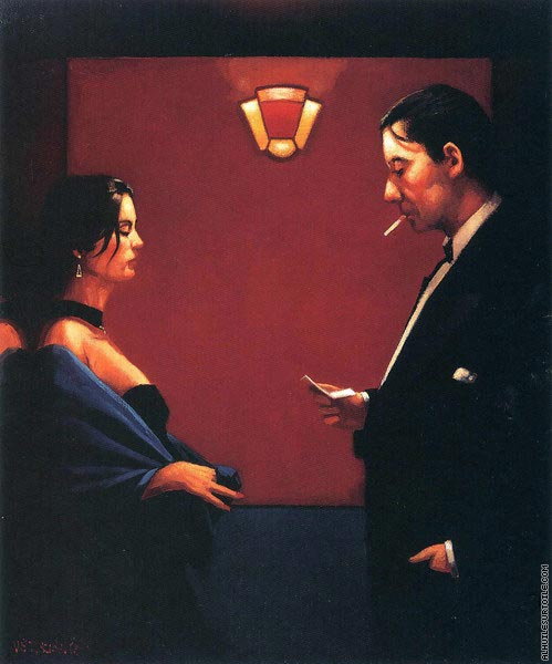 A letter of consequence 2 (Vettriano)