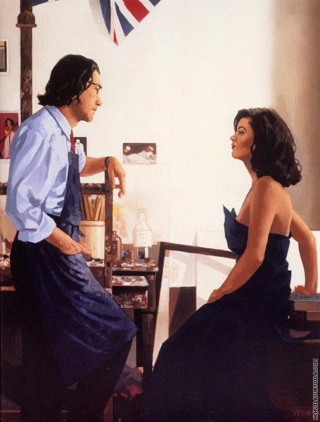 Artist and Model 2 (Vettriano)