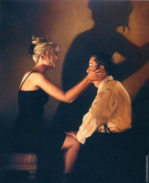 At Last my Lovely (Vettriano)