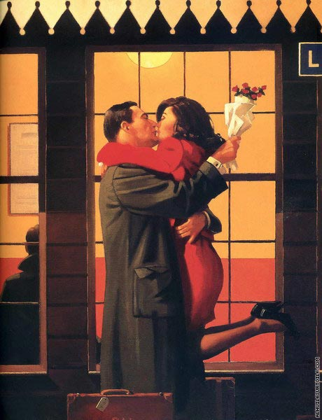 Back where you be long (Vettriano)