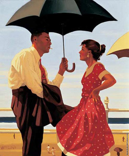 Bad Boy- Good Girl (Vettriano)
