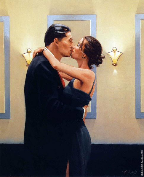 Betrayal - First Kiss (Vettriano)