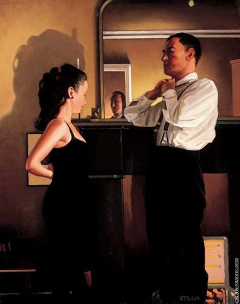 Between Darkness and Dawn (Vettriano)
