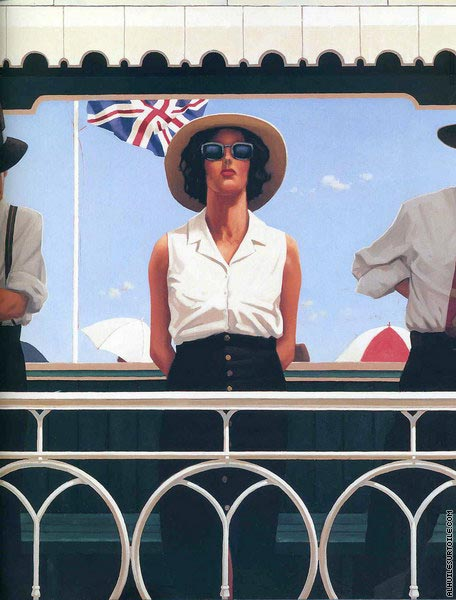 Bird on the Wire (Vettriano)