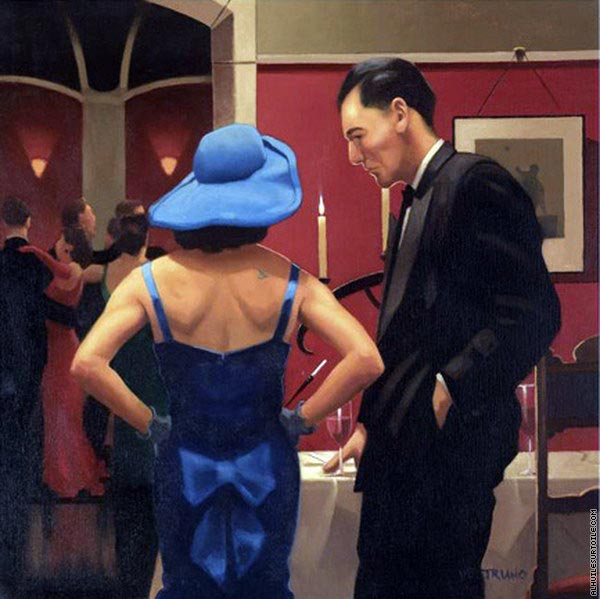 Blue Bird (Vettriano)