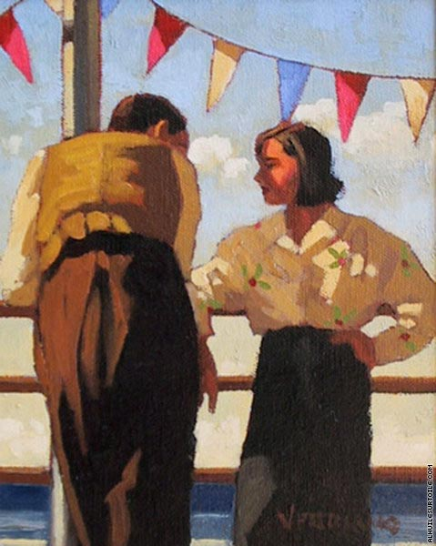 Couple on the Promenade (Vettriano)