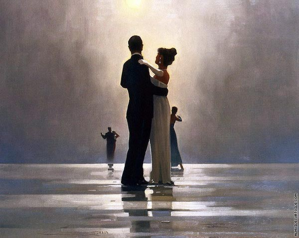 Dance me to the End of Love (Vettriano)