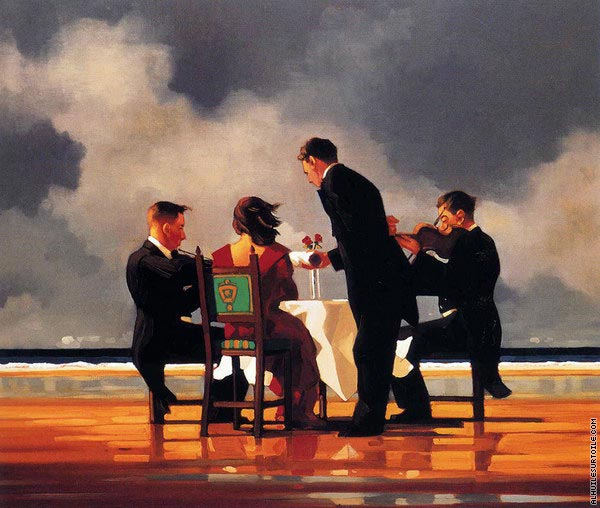 Elegy for The Dead Admiral (Vettriano)