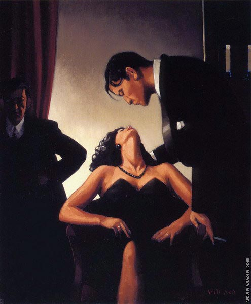 Game of Power (Vettriano)