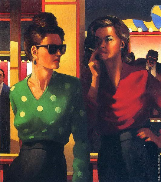 Good Time Girls (Vettriano)