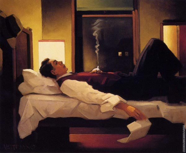 Heartbreak Hotel (Vettriano)