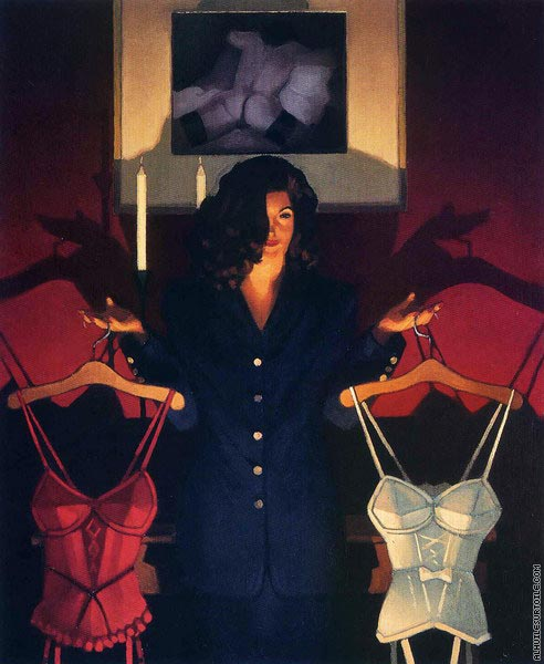 Heaven or Hell - The Sweetest Choice (Vettriano)