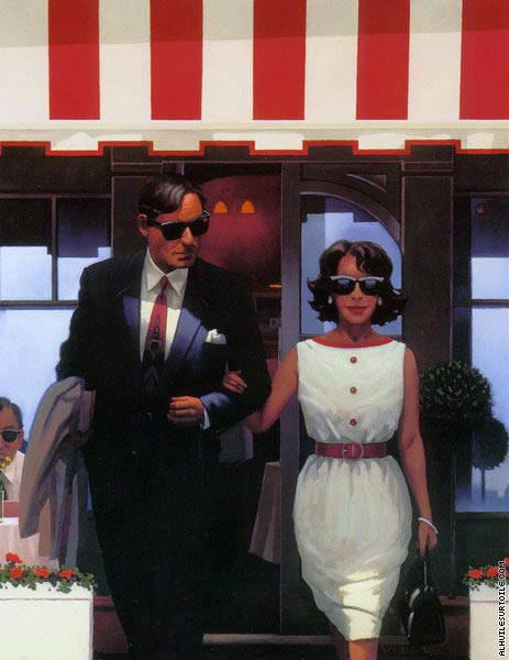 Lunchtime Lovers (Vettriano)