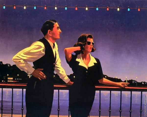 Midnight Blue (Vettriano)