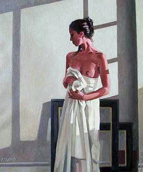 Model in white 1 (Vettriano)