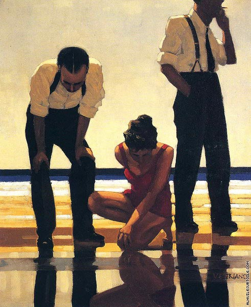 Narcissistic Bathers (Vettriano)