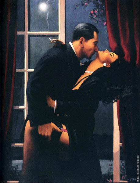 Night Geometry (Vettriano)