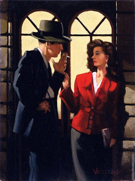 Night Negotiations (Vettriano)