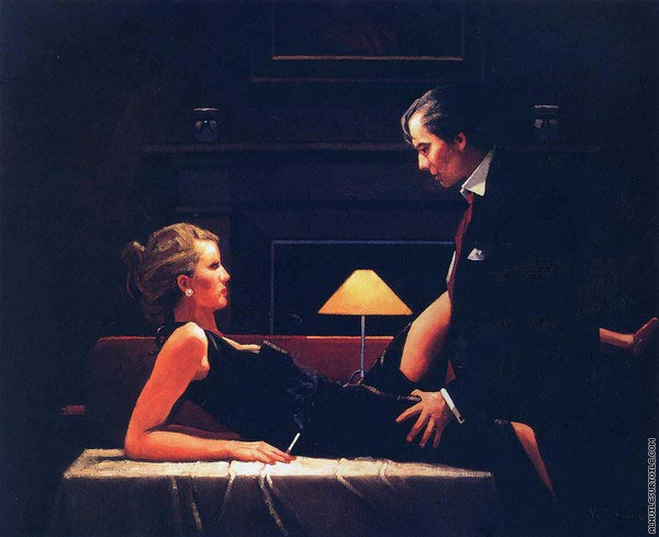 Passion Overflow (Vettriano)