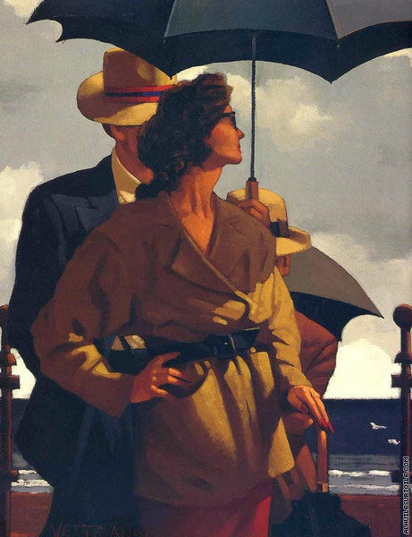 Right Time - Right Place (Vettriano)