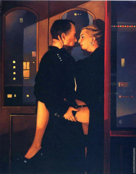 Soho Nights (Vettriano)