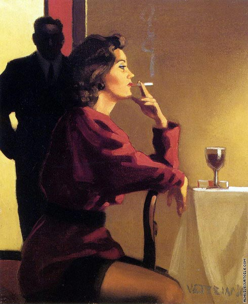 Someone to watch over me (Vettriano)