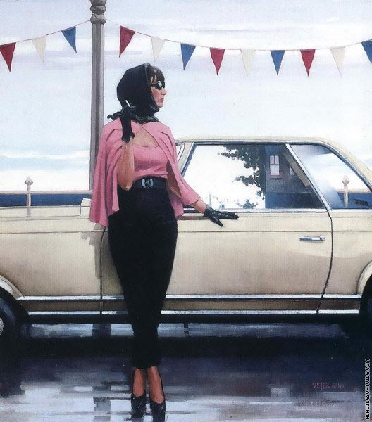 Suddenly one Summer (Vettriano)