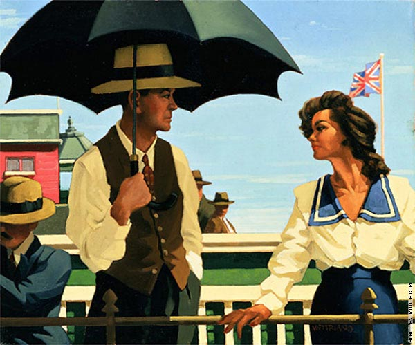 Summertime Blues (Vettriano)