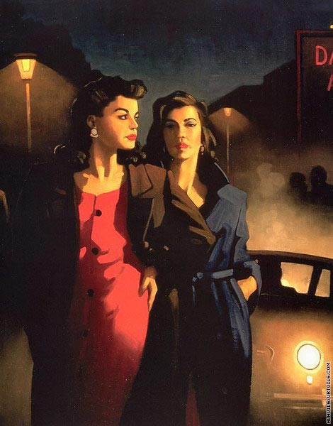 Sweet in the Night (Vettriano)