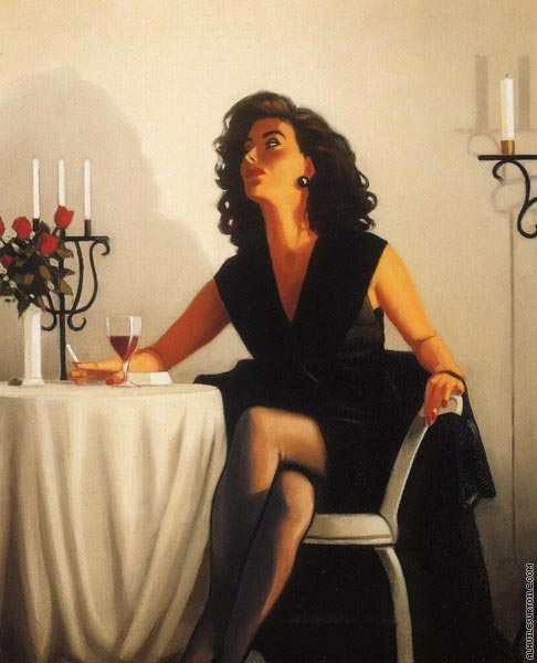 Table for One (Vettriano)