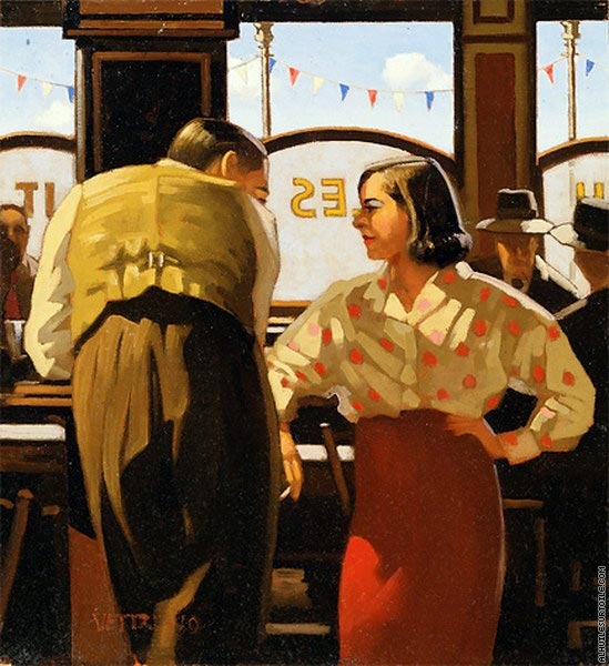 The Barmaid's Fancy (Vettriano)