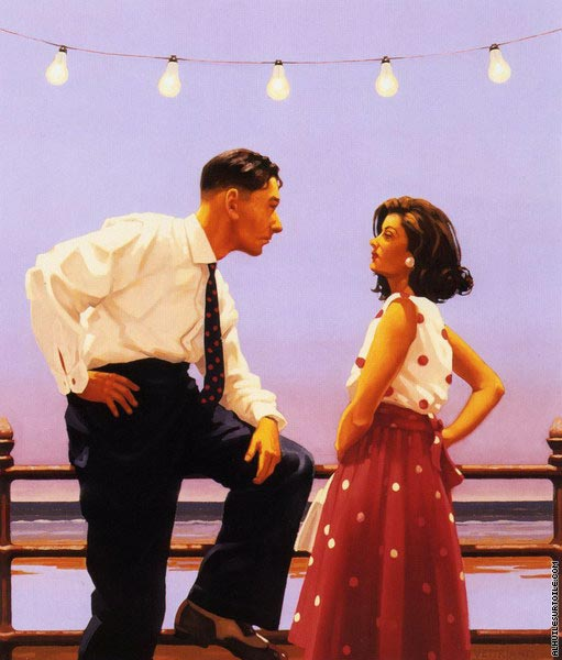 The Big Tease (Vettriano)