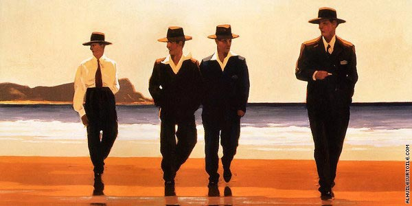 The Billy Boys* (Vettriano)