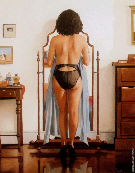 The Blue Gown (Vettriano)
