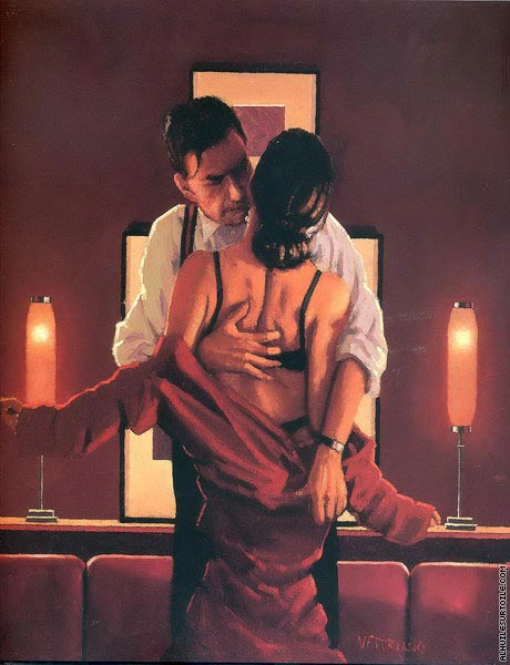 The Embrace of the Spider (Vettriano)