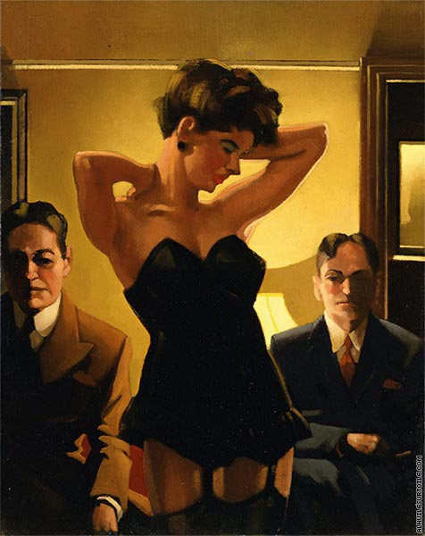 The First Audition (Vettriano)