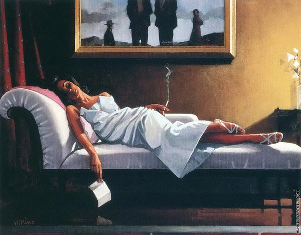 reproduction du tableau the letter vettriano. Black Bedroom Furniture Sets. Home Design Ideas
