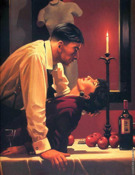 The Party's Over (Vettriano)