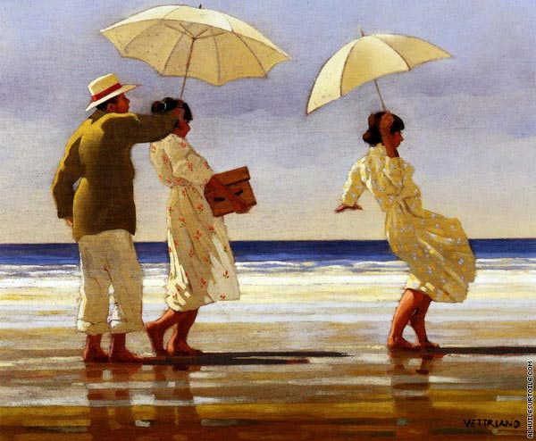 The Picnic Party (Vettriano)