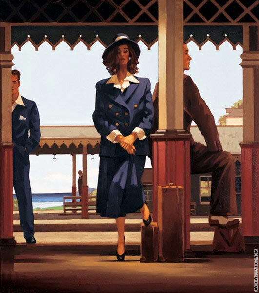 The Railway Station (Vettriano)