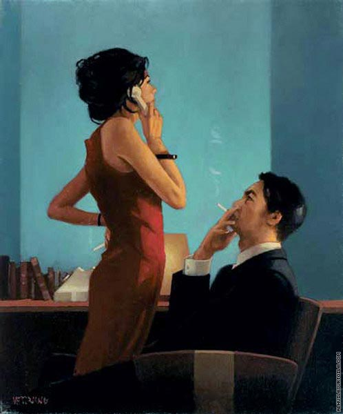 The Setup (Vettriano)