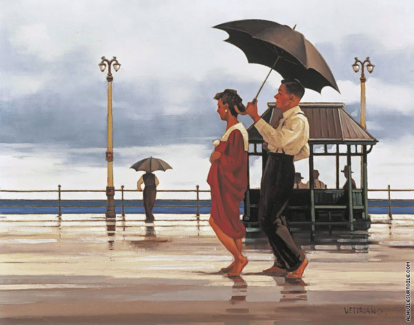 The Shape of Things to Come (Vettriano)