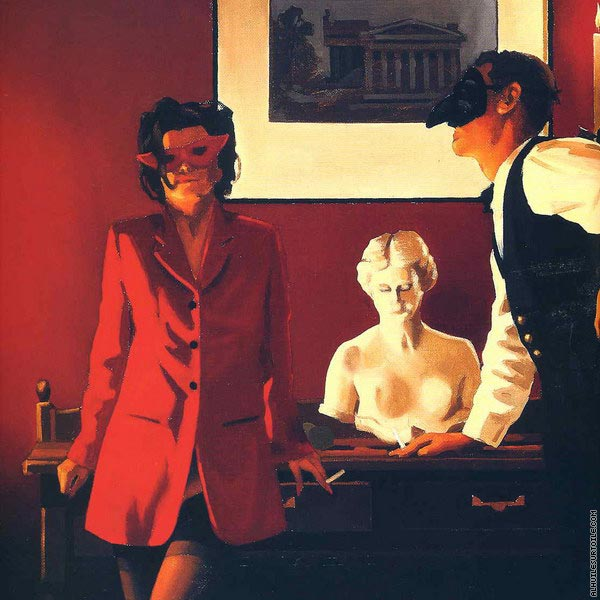 The Sparrow and the Hawk (Vettriano)