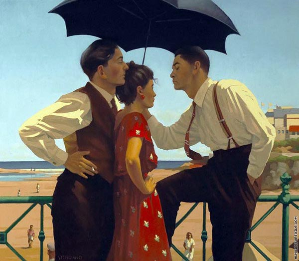 The Tourist Trap (Vettriano)