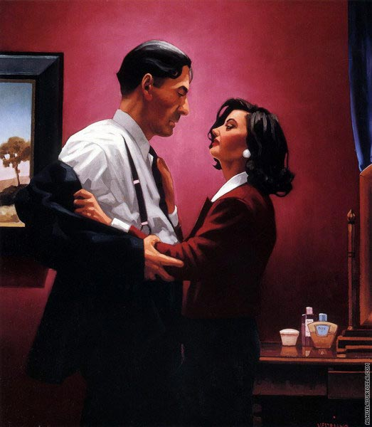 Welcome to my World (Vettriano)