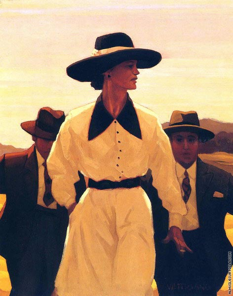Woman Pursued (Vettriano)
