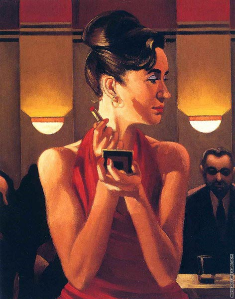 Working the Lounge (Vettriano)