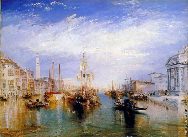Le Grand Canal Venice (Turner)