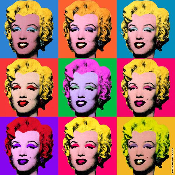 Reproduction Du Tableau Marilyn Monroe Warhol